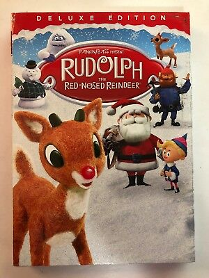 Rudolph the Red-Nosed Reindeer Deluxe Edition (DVD, 2018) Brand New