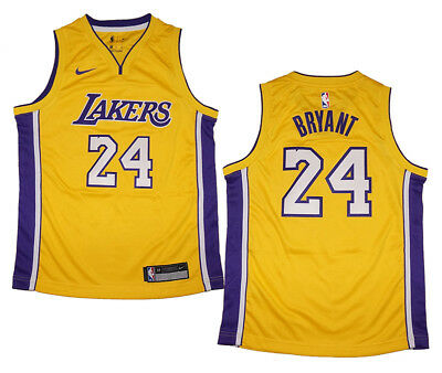 667f437db73 Youth Nike Kobe Bryant Los Angeles Lakers Gold Swingman Jersey - Icon  Edition