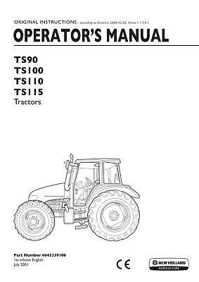 NEW HOLLAND TS100A Ts110A Ts115A Ts125A Ts130A Ts135A Tractor ... on new holland ts110 wiring-diagram, new holland tv145, new holland tractor battery, new holland schematics, new holland tractor oil filter, new holland tractors used, new holland tractor attachments, new holland tractor circuit breaker, new holland tractor ecu, new holland tractor headlights, new holland tractor ford, new holland tractor remote control, new holland tractor wheels, new holland tractor engine, new holland tractor steering, new holland tractor specifications, new holland tractor lights, new holland belt diagram, new holland ls180 service manual, new holland tractor 7740,