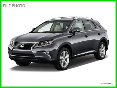 2015 Lexus RX 4DR AWD 2015 4DR AWD Used Certified 3.5L V6 24V Automatic AWD SUV Premium Moonroof