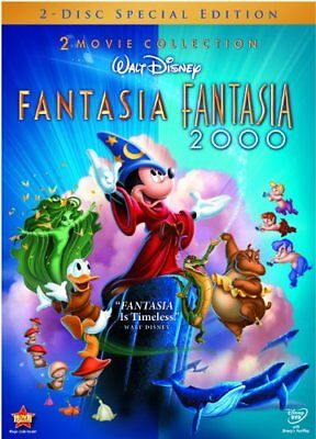Fantasia and Fantasia 2000 (2 Movie Collection  2-Disc DVD Set) Special Edition