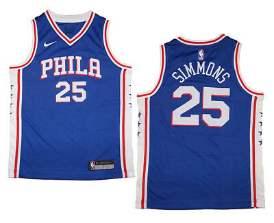 Youth Nike Ben Simmons  25 Philadelphia 76ers Royal Blue Swingman Jersey 258bd9be6