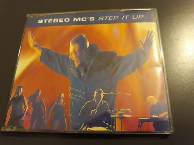 Stereo MCs Step It Up CD Single 4 Track