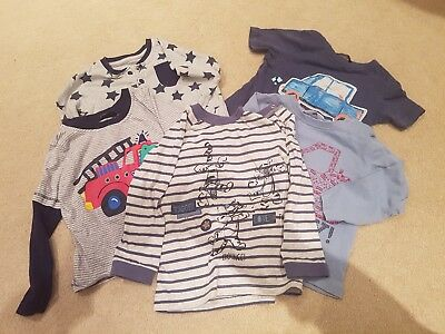 Baby Boys Clothes Bundle Age 12-18 Months - M&CO and George