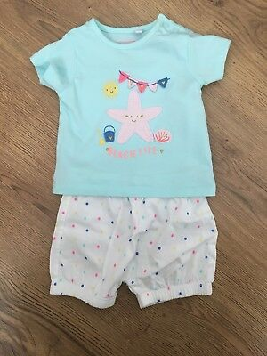 a391ec1ee39 ADIDAS ORIGINALS AGE 0-3-6 Months Baby Girl Outfit Trefoil Summer T ...