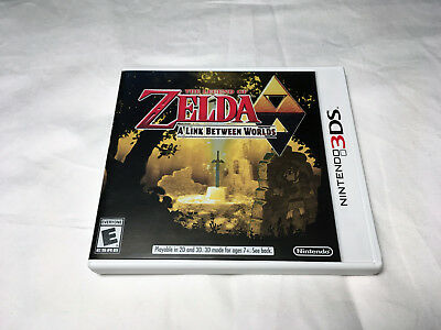 The Legend of Zelda: A Link Between Worlds Nintendo 3DS Game Complete