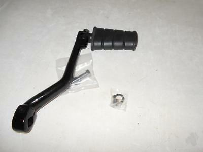 "Harley Stroker Kicker Arm Black 1"" Longer Then Stock  With Kick Pedal"