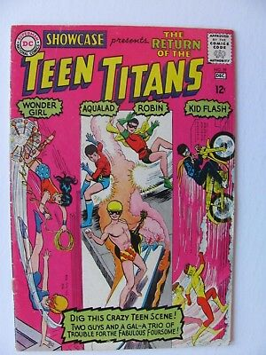 Showcase 59 (1965) - 3rd appearance of Teen Titans
