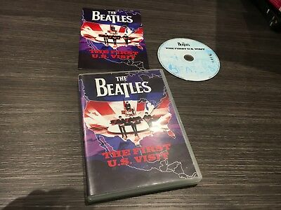 The Beatles Dvd The First U.s. Visit Sealed Mint Rare Pal Europe