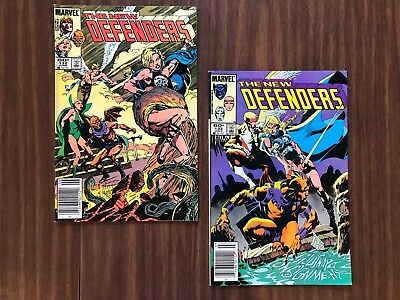 New Defenders, lot of 2, #132 and #133 (Marvel, 1984), Stan Lee, fun gift!