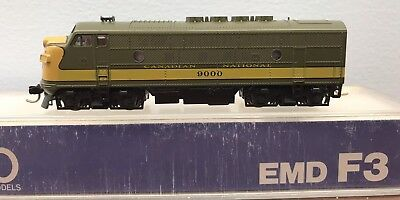 Kato, N Scale, F3A Diesel Loco, Canadian National, DCC equiped