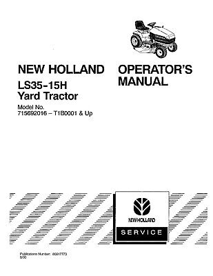 on new holland ls35 lawn tractor wiring diagram