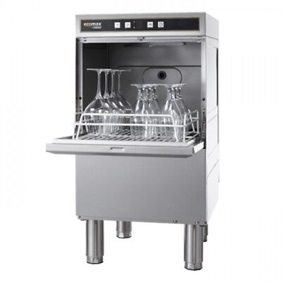Hobart ECOMAX404 Undercounter Glasswasher 2 cycles 60 & 120 sec