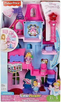 c3a2693cdb0c Disney Princess Magical Wand Palace By Little People Girls Toy Castle  Playset