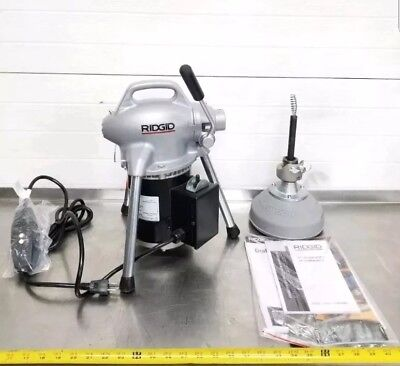 Ridgid Kollman K-50 Electric Sectional Power Drain Cleaner