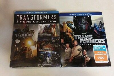 Transformers 5 Movie Collection (Blu-ray) BRAND NEW!!!