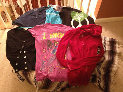 !~~~Very Nice~~~Guc Junior's Sz Small Lot of 6 Various Style/Brand/Color Tops !