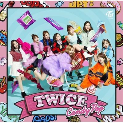 New TWICE Candy Pop FC ONCE JAPAN Limited Edition CD Japan 4943674276493