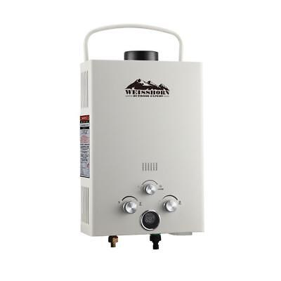 Beige Portable Gas Hot Water Heater Shower Camping Caravan Outdoor LPG 4WD