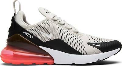 35a87b2876 Men Nike Air Max 270 AH8050-003 Light Bone Punch White Black Infrared 90  Sneaker