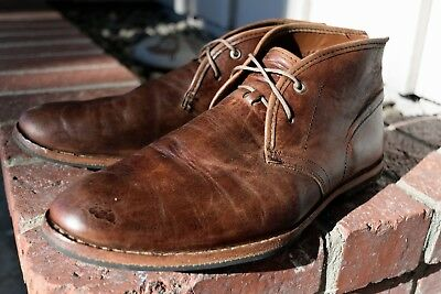 6f6c7870f68d35 Timberland Boot Company Wodehouse Lost History Brown Chukka Boots Men 10 ~