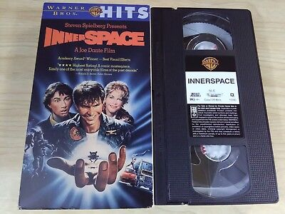 Inner Space (VHS1987)Very Good Condition