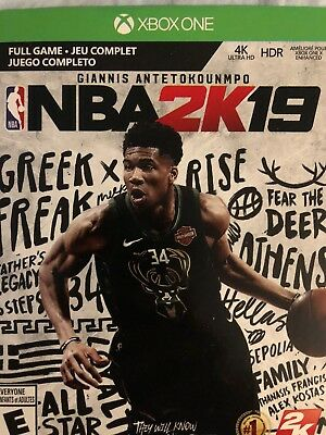 NBA 2K19 XBOX One DIGITAL IMMEDIATE DELIVERY EMAIL WITH 14 Day XBOX Live Gold!