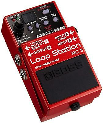 Boss Audio RC-3 Loop Station Pedal Weltweit