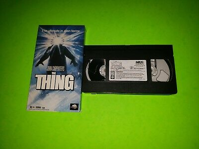 John Carpenter's The Thing VHS 1996 1982 TESTED VERY GOOD Horror Classic