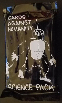 Cards Against Humanity Science Pack Expansion Brand New Sealed