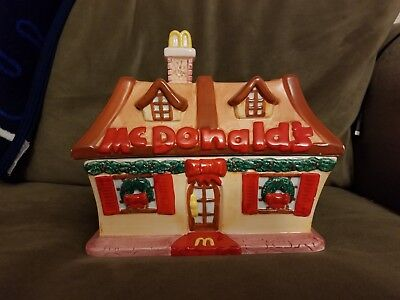 1998 Vintage Mcdonald's Collection Restaurant Cookie Jar, Issued In 1998