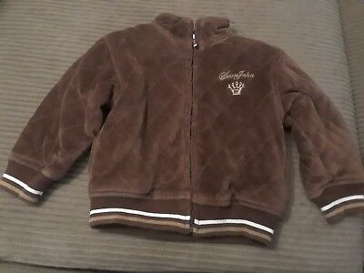Sean John Quilted Brown Jacket Coat Baby Boy 12/18 months Lined