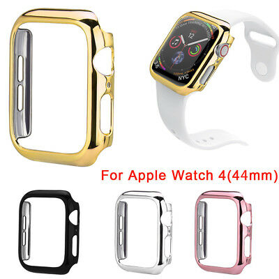 Ultra Thin PC Plating Cases Protective Bumper Case Cover For Apple Watch 4 44mm