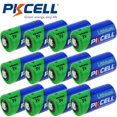 12x 123A CR123A DL123A CR17345 PL123A 3V 1500mAh Battery for Netgear Arlo Camera