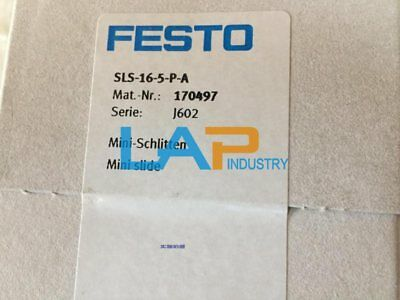 1PC NEW For FESTO Slide Cylinder SLS-16-5-P-A 170497 #HD