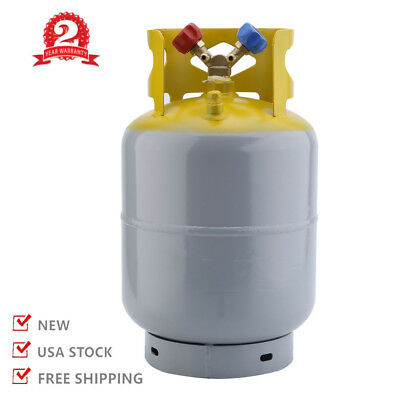 Refrigerant Recovery Reclaim 30lb Cylinder Tank 400 PSI R410A Rated HM