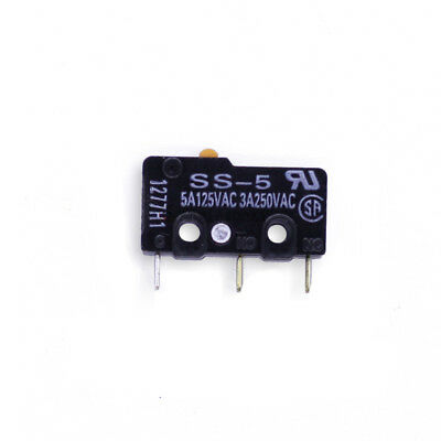 Pin Plunger, Omron Electronic Components SS-5 Micro Switch, SPDT, 5A 250V