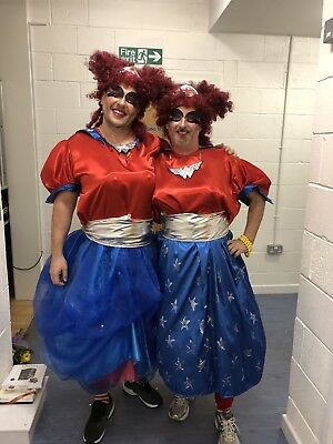 2x Pantomime Dame, Ugly Sisters Costumes, Wonder Woman