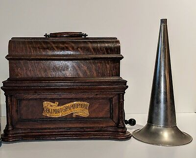 "Columbia Bf Graphophone With 6"" Mandrel*no Reserve*"