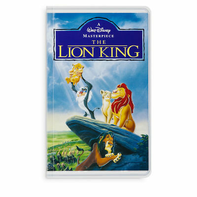 Disney Parks VHS Case The Lion King Simba Notebook Blank Book Diary Journal NEW