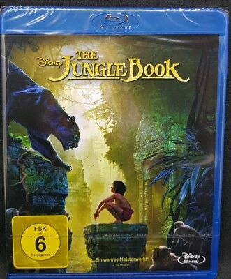 DISNEY The Jungle Book ( Realverfilmung Das Dschungelbuch Blu Ray ) NEU