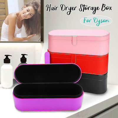 PU Leather Travel Case Cover Storage Case For Dyson Supersonic HD01 Hair Dryer