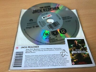 Jack Reacher (DVD, 2013) DISC ONLY - TOM CRUISE