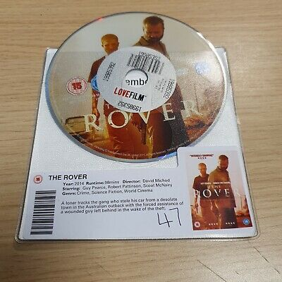 The Rover, Dvd, Disk Only