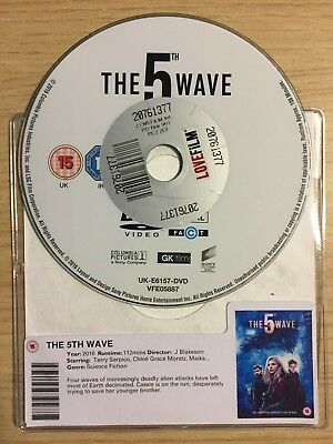 The 5Th Wave (Dvd, 2016) Disc Only