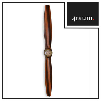 Authentic Models Propeller WWI Stil mit Uhr | Wanddekoration | NEU