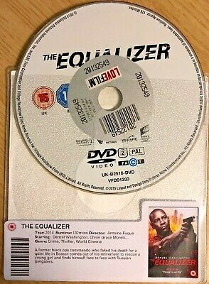 The Equalizer (Dvd, 2014) Disc Only