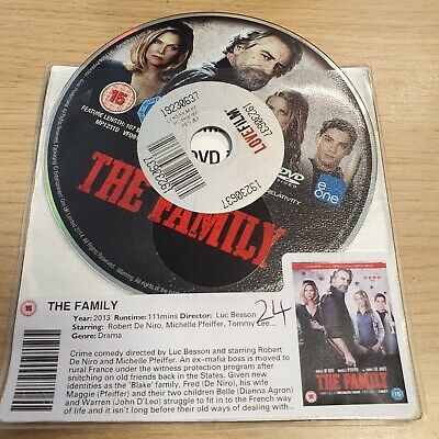 The Family (DVD, 2014) DISK ONLY --- ROBERT DE NIRO