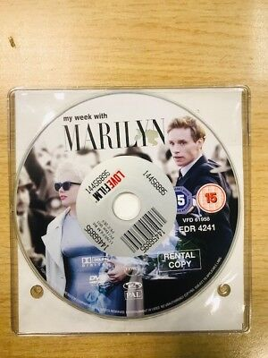 My Week With Marilyn (DVD, 2012) DISC ONLY