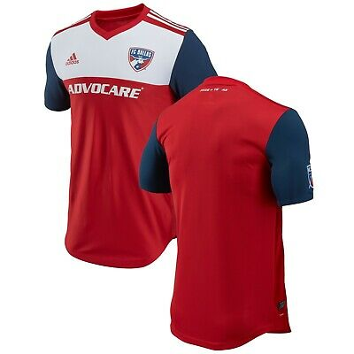 9f562446202 FC DALLAS ADIDAS 2018 Primary Authentic Jersey (Red) Size - Men s XL ...